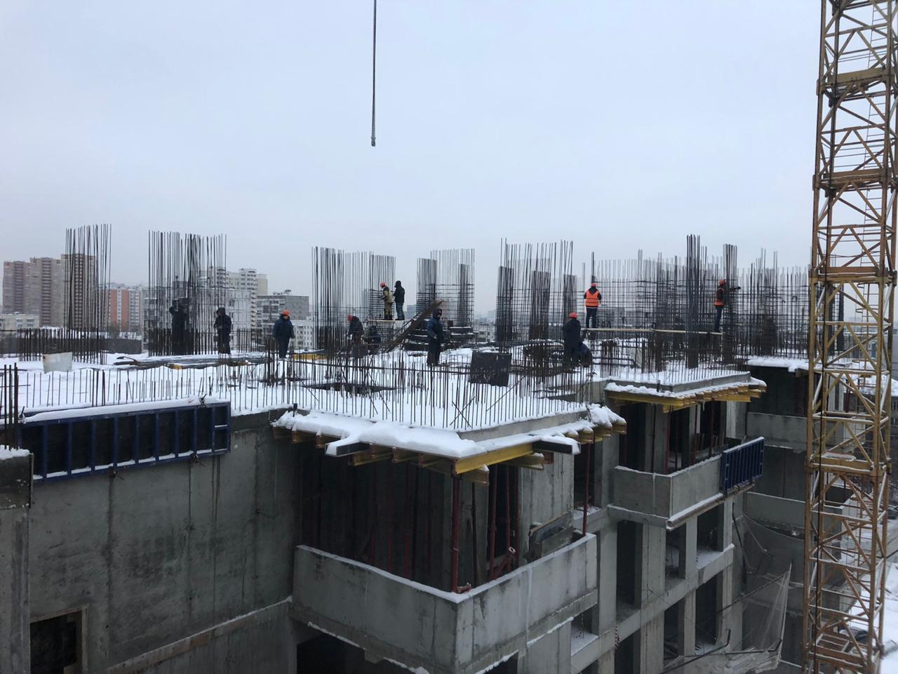 ЖК Терлецкий стройплощадка